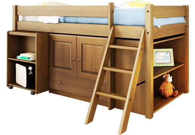Entre os mais de 45 mil produtos da Mobly, o cliente pode comprar online essa cama compacta que sai por R$1799 (Foto: Divulgação)
