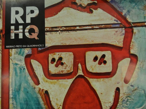 Revista resgata história de Ribeirão Preto por meio dos quadrinhos (Foto: Rodolfo Tiengo/ G1)