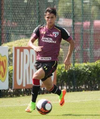 Luiz Araújo São Paulo (Foto: Igor Amorim/saopaulofc.net)