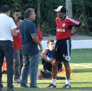 Zico Treino Flamengo (Foto: Cahê Mota)
