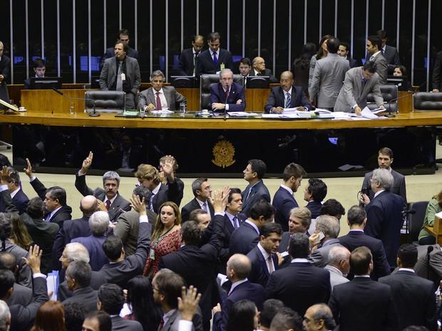 Câmara - Sessão destinada a votar a Medida Provisória 668/15 (Foto: Divulgação/Gustavo Lima/Câmara dos Deputados)