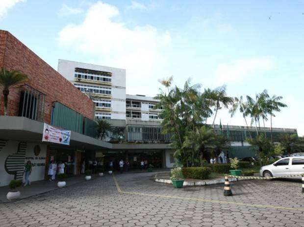 Hospital de Clínicas Gaspar Vianna, em Belém, montará estrutura para captação no estacionamento. (Foto: Divulgação/Agência Pará)
