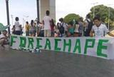 Torcedores de Manaus se unem e prestam homenagem à Chapecoense