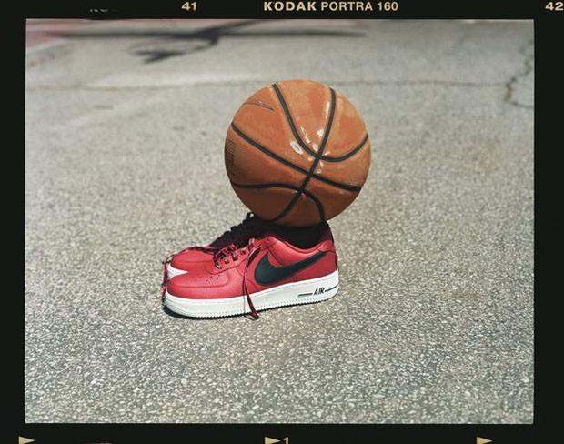 Novo Nike AF-1 Low NBA inspirado no Chicago Bulls (Foto: Divulgação)