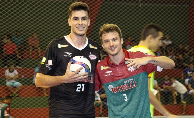 Diegão e Felipe Orlândia (Foto: Luan Amaral/ADC Intelli)
