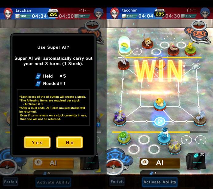Use o Super AI quando empacar na luta ou para vencer rapidamente (Foto: Reprodução/Tais Carvalho)