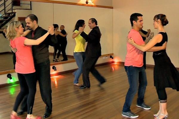 Dança no Vida e Saúde (Foto: Reprodução/RBS TV)
