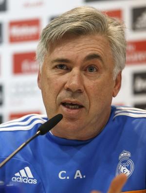 Coletiva Real Madrid Carlo Ancelotti (Foto: EfeServicios)