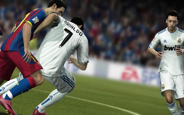 Real Madrid foi o time mais escolhido (2) (Foto: Divulgação/FIFA12)