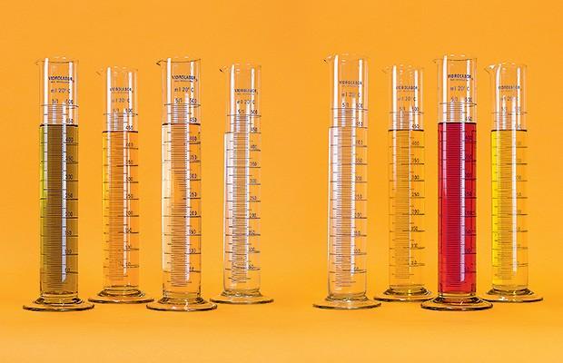 Os diferentes tipos de combustíveis disponíveis nos postos (Foto: Autoesporte)