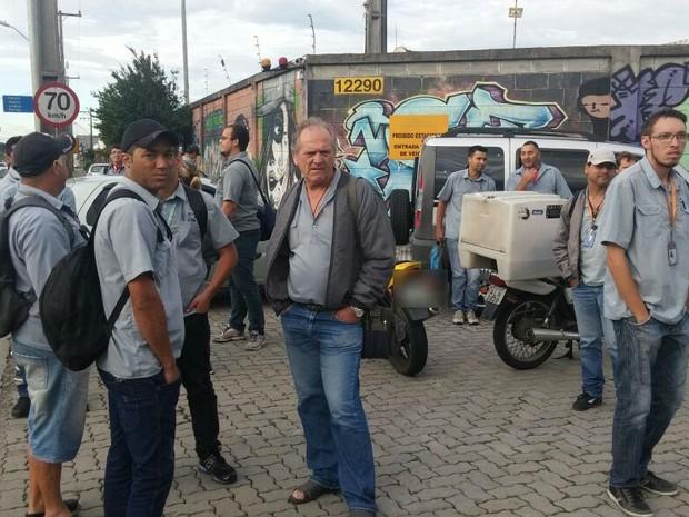 Motoristas e cobradores reclamam de atrasos nos pagamentos  (Foto: Divulgação/Sindimoc)