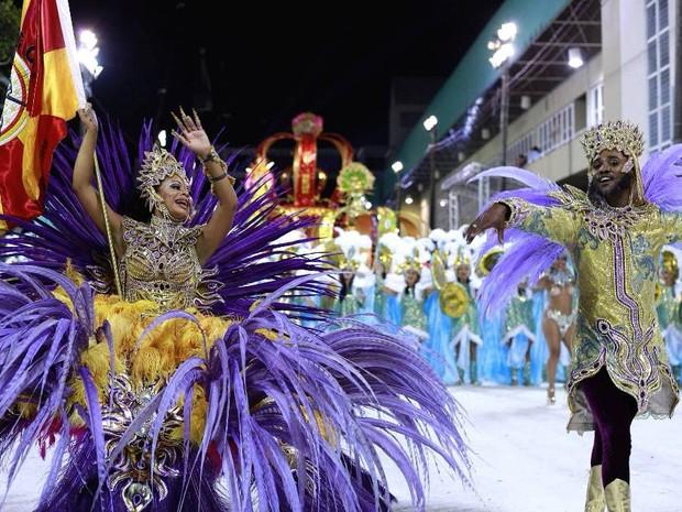 Registro do desfile da Copa Lord (Foto: Otávio Anacleto/PMF)