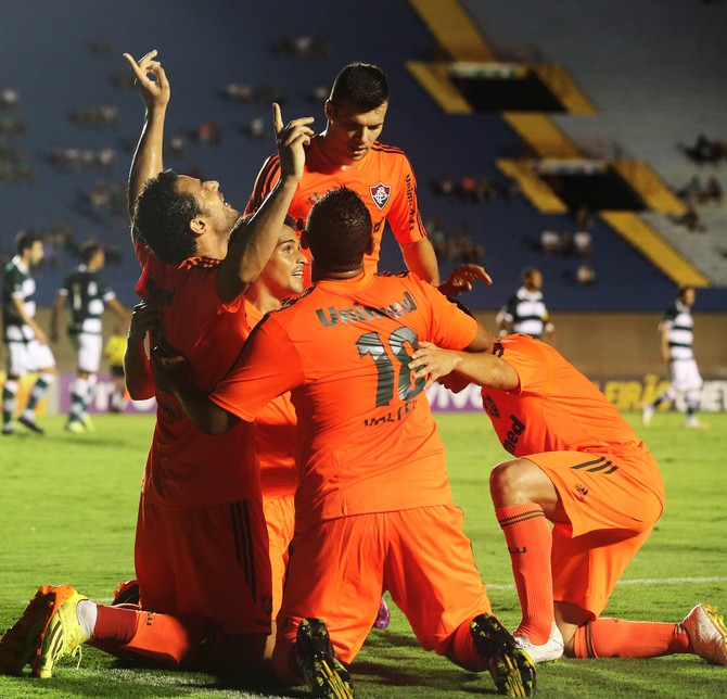 fred goias x fluminense (Foto: Nelson Perez/Fluminense FC)