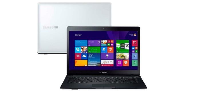 Notebook Samsung ATIV Book 3 vem com bateria de 6 células (Foto: Divulgação/Samsung) (Foto: Notebook Samsung ATIV Book 3 vem com bateria de 6 células (Foto: Divulgação/Samsung))