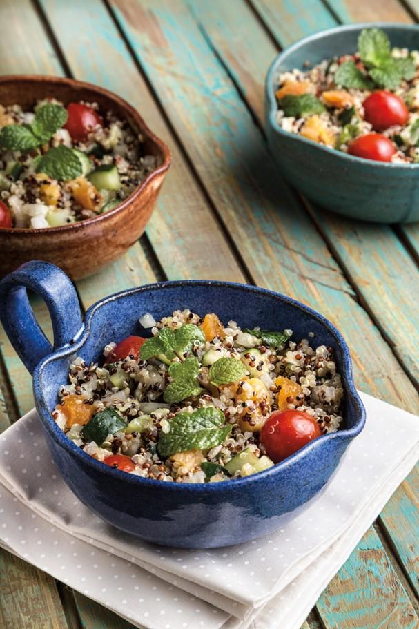 Tabule de quinoa tricolor (Foto: Divulgação/Cesar Godoy)