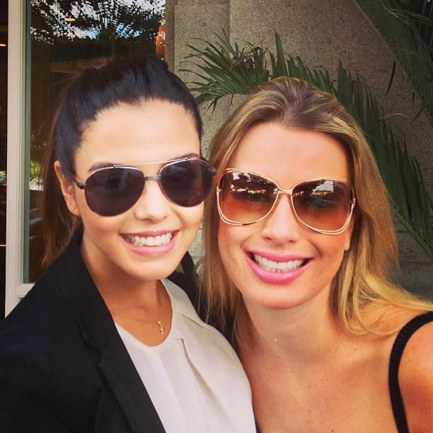 Giovanna Lancellotti e Fernanda Keulla (Foto: Instagram / Reprodução)