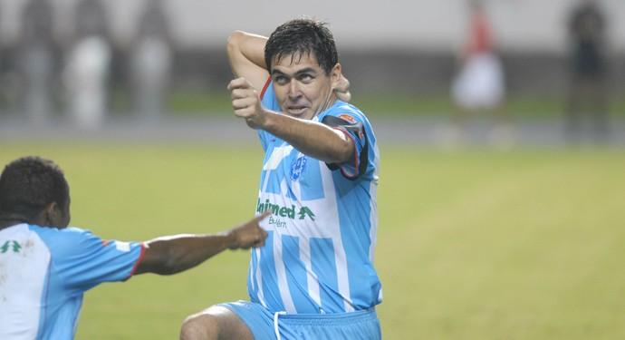 Robgol é considerado um dos maiores atacantes da história do Paysandu (Foto: Fernando Araújo/O Liberal)