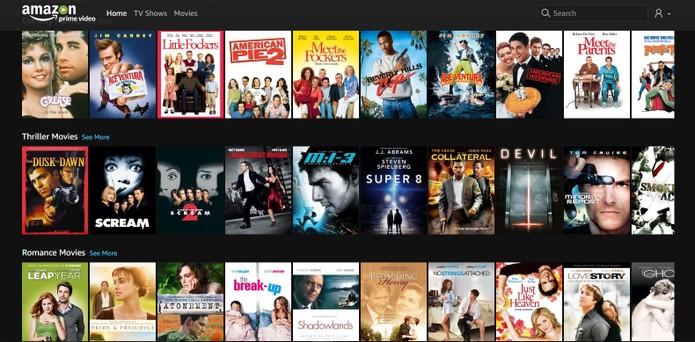 Veja como baixar filmes e séries no Amazon Prive Video (Foto: Reprodução/Barbara Mannara)