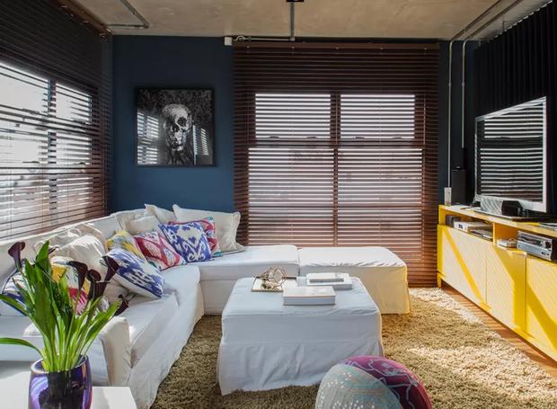 12-decoração-sala-pequena-dicas-para-aumentar-o-espaço-sala-criativa (Foto: Victor Affaro/Editora Globo)