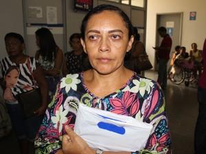 Dona de casa Carla Ferreira  (Foto: Ellyo Teixeira/G1)