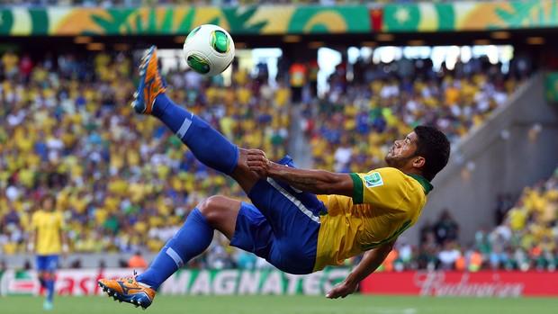 Hulk Brasil x México (Foto: Getty Images)