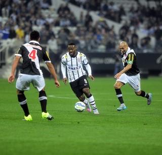 Corinthians x Vasco Vagner Love (Foto: Marcos Ribolli)