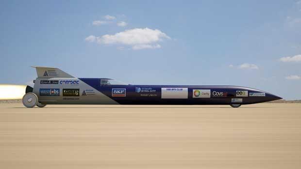O veículo vai atingir 1.609 km/h em 20s (Foto: AFP)