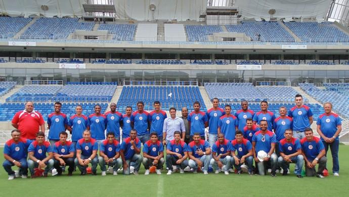 América-RN realiza visita a Arena das Dunas nesta segunda-feira (Foto: Divulgação/América-RN)