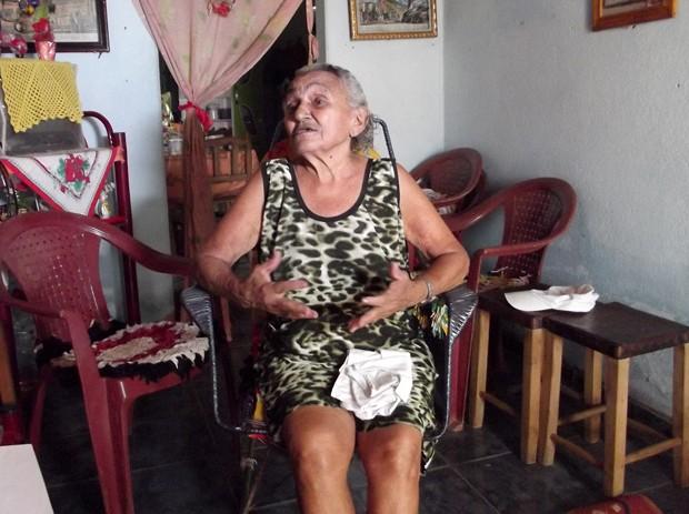 Idália também participou das aulas (Foto: Fernanda Zauli/G1)