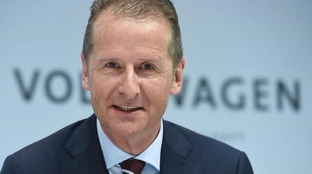 Herbert Diess, presidente-executivo da Volkswagen (Foto: Reuters)