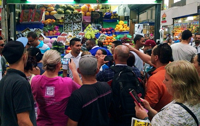 Petros corinthians mercado municipal (Foto: Victor Pozella / TV Globo)