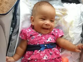 Sara Vitória foi encontrada sem vida dentro de casa em MT (Foto: Arquivo pessoal)