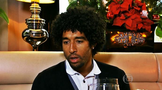 Dante conversou com o Esporte Espetacular (Foto: Reprodução TV Globo)