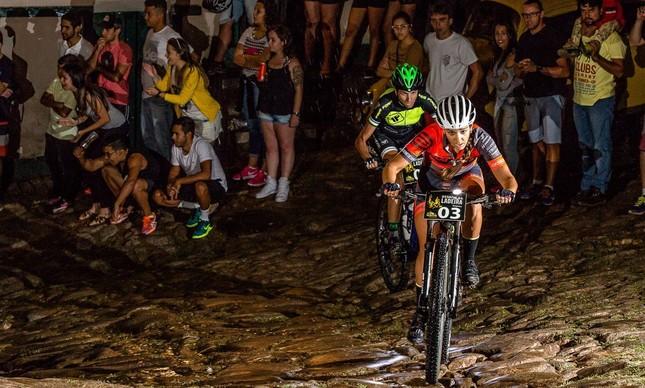 Isabella Lacerda em ação no Desafio da Ladeira