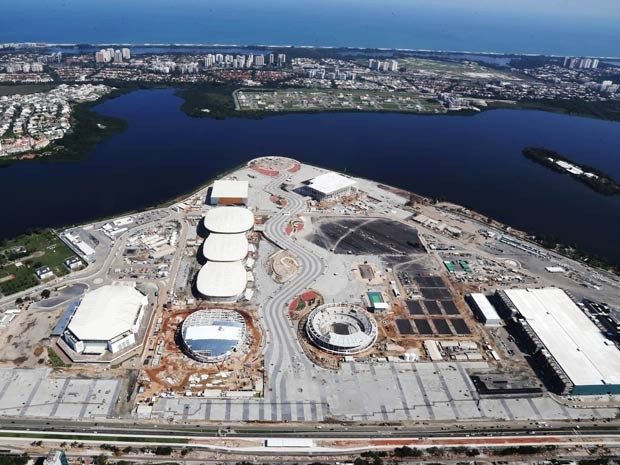 Parque Olímpico do Rio já tem 89% das obras executadas (Foto: Ricardo Cassiano/ Prefeitura do Rio)