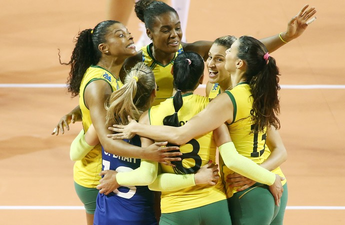 Brasil x Rússia fase final Grand Prix vôlei (Foto: Divulgação/FIBV)