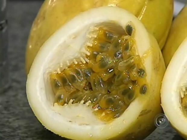 Maracujá: fruta é mais do que apenas um calmante natural (Foto: Reprodução/ TV TEM)