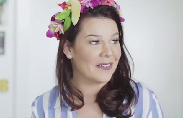 Fernanda Souza (Foto: Reprodução/Youtube)