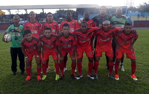 Gavião Kyikatejê - Segunda Divisão do Campeonato Paraense 2014 (Foto: Divulgação/Ascom FPF)