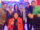 Cauby Peixoto, Luan Santana, Diogo Vilela e Heloísa Périssé estiveram no Encontro desta sexta-feira