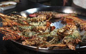 Lagosta grelhada com camarão: receita do 'Diário do Olivier'