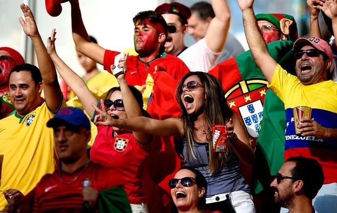 torcida de Portugal (Foto: Reuters)