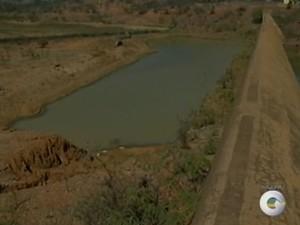 Barragem de Uruá  na Zona Rural de Petrolina, PE, volta a encher. (Foto: Reprodução/ TV Grande Rio)
