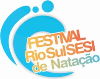 Festival Rio Sul Sesi de Natação acontece em Barra do Piraí (Foto: TV Rio Sul)