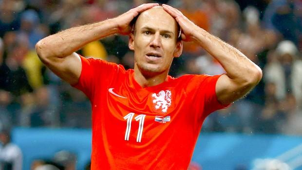 Robben jogo Argentina x Holanda (Foto: Reuters)