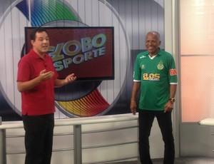 De visita ao estado do TO, Dadá Maravilha fala um pouco sobre futebol, Gurupi e Atlético-MG (Foto: Marcos Martins/GLOBOESPORTE.COM)