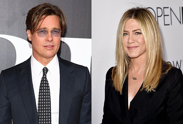 Brad Pitt e Jennifer Amiston (Foto: Getty Images)