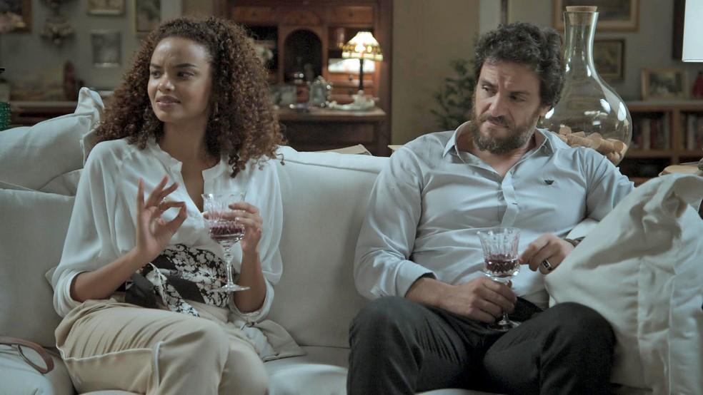 Leila idem!  (Foto: TV Globo)