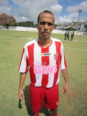 Alan Taxista estava no Tupi, mas defendeu o Águia em 2011 (Foto: Divulgação / Ascom clube)