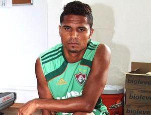 Anderson no treino do Fluminense (Foto: Ralff Santos / FluminenseF.C.)